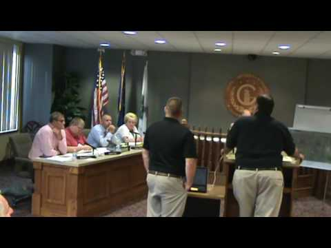 Greensburg IN City Council meeting of 8-1-16 part 2 of 2
