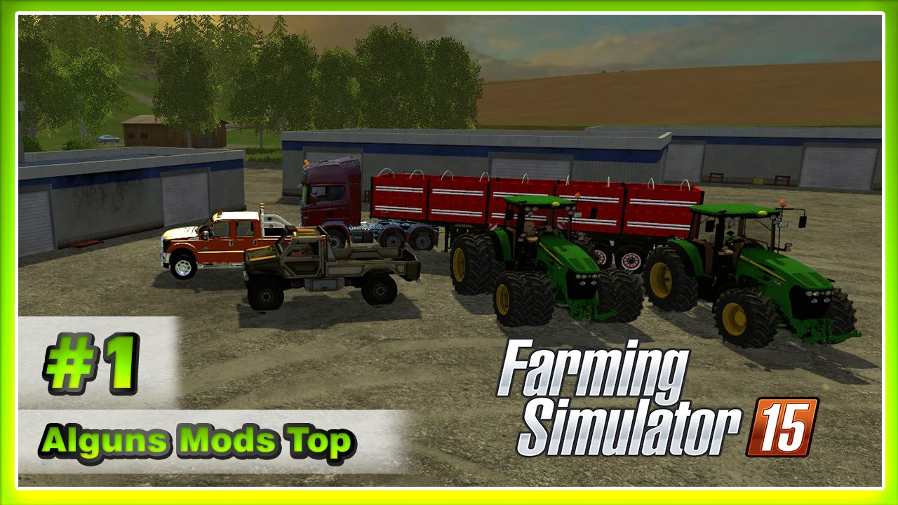Farming Simulator 15 Alguns Mods Top #1 - GameVicio