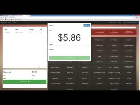 Open Sourced Point Of Sales Web Client