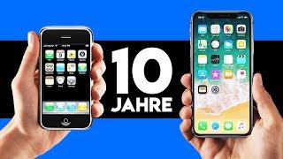 iPhone X vs. iPhone 1 - Das hat sich in den letzten 10 Jahren geändert!