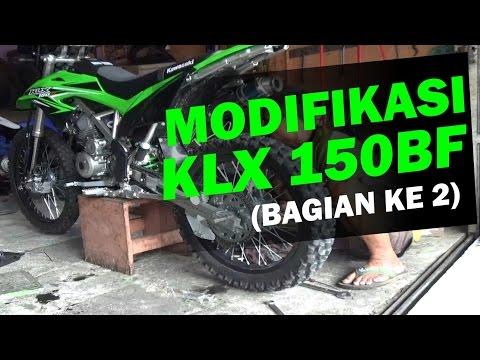 Modifikasi Kawasaki KLX 150BF Adventure, Trail, Enduro (bagian 2)