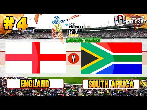 ICC Cricket World Cup 2015 (Gaming Series) - Pool B Match 4 England V South Africa