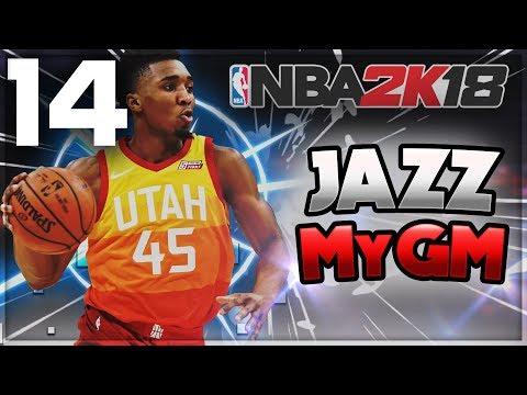 OVERTIME PLAYOFF GAME | NBA 2k18 Jazz MyGM Ep 14