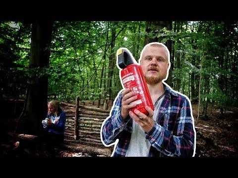 Draußen im Wald 3  Wenn FEUER zur GEFAHR wird!  pjadventuree