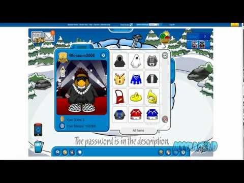 Club Penguin - Free Member Account 2012