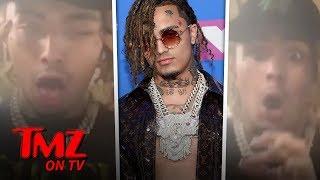 Lil Pump 'Butterfly Door' Lyrics Causing Controversy | TMZ TV Video