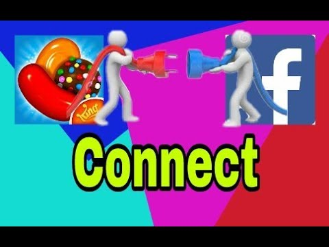 how to connect my candy crush saga to facebook