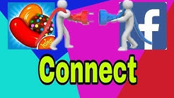 How to Connect  Candy Crush saga  with your facebook account