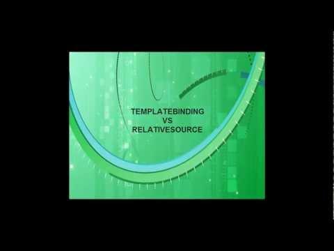 Wpf | Naby | 12 | TemplateBinding Vs RelativeSource | Chap. 12/7