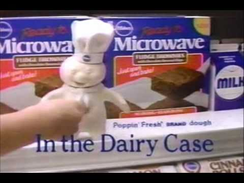 Pillsbury Microwave Brownies Commercial 1988 Youtube