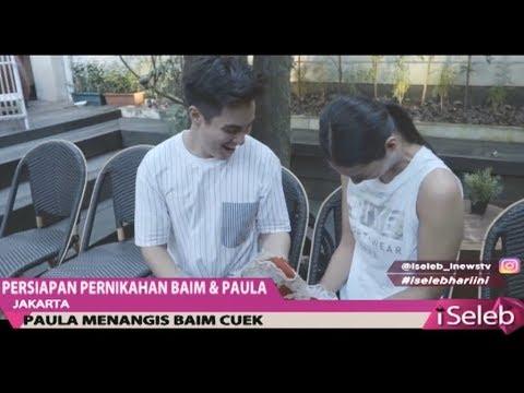 Jelang Pernikahan, Baim Wong & Paula Verhoeven Latihan Upacara Adat Pernikahan - iSeleb 07/11 Mp3