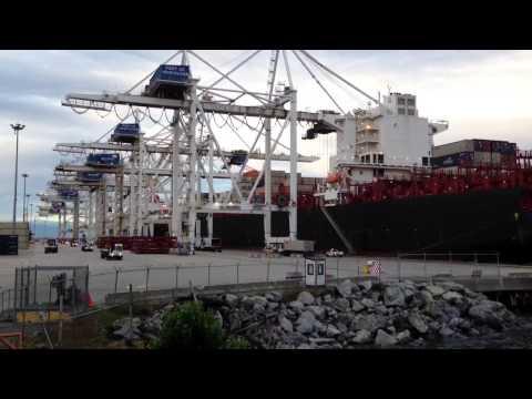 Roberts Bank Ship Loading
