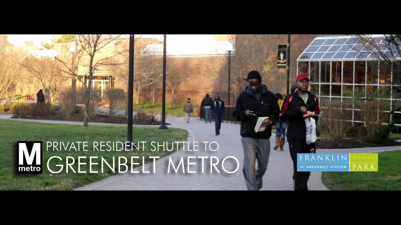 Franklin Park At Greenbelt Station Youtube