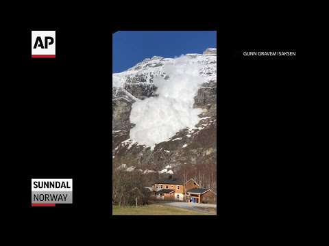 Avalanche in Norway