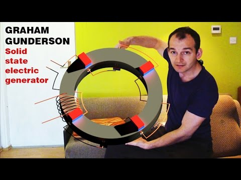 Free Energy Generator, GRAHAM GUNDERSON Solid state electric