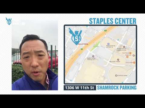 Parking tips for Staples Center in Los Angeles