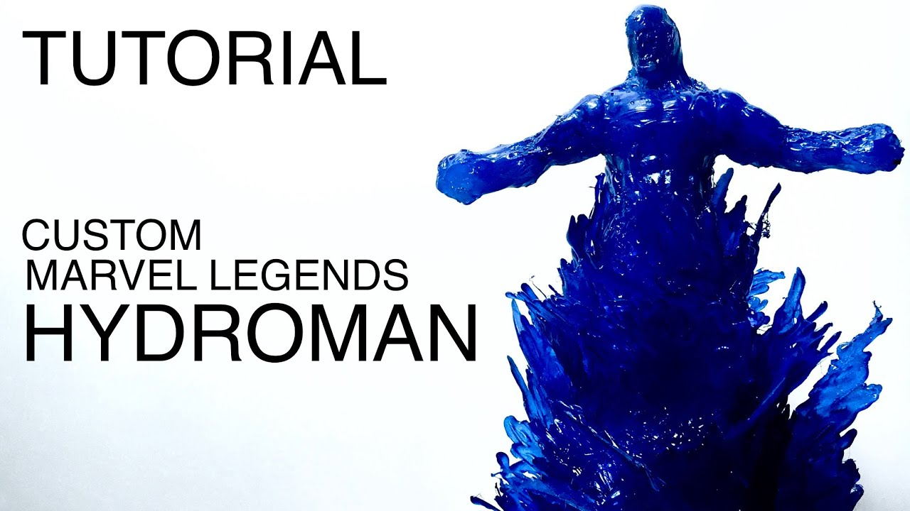 Marvel Legends Hydroman, 100% silicona caliente | Custom Marvel Legends | Spiderman: Far From Home