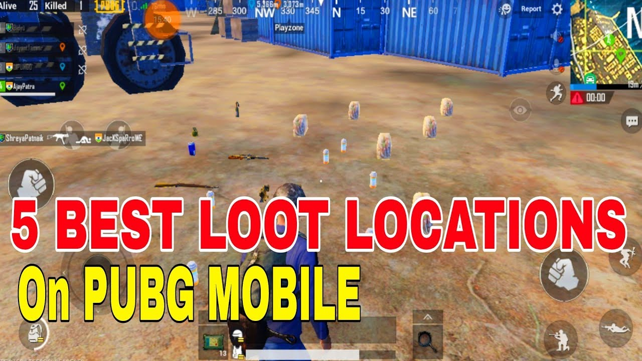 Playerunknown S Battlegrounds Maps Loot Maps Pictures: SURVIVING SANHOK PUBG Mobile PlayerUnknown39s T