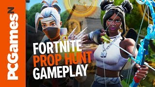 Fortnite Prop Hunt gameplay - can Griff really be this bad?
