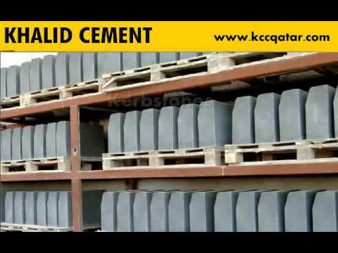 Khalid Cement Industries Co. Doha Qatar- Ready mix Precast  Hollowcore Slabs Blocks  Kerbstones