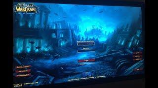 World of Warcraft: Battle for Azeroth {unofficial} login screen