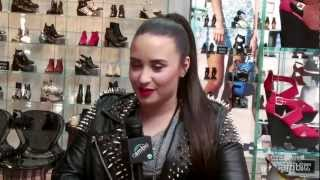 """Demi Lovato Performs """"Give Your Heart A Break"""" at L.A. Opening of Top Shop, Talks New Album Too!"""