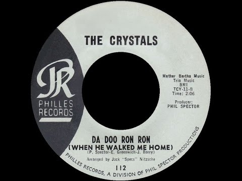 [1963] The Crystals ∙ Da Doo Ron Ron (When He Walked Me Home)