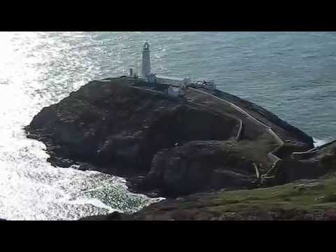 South Stack Lighthouse Anglesey Ynys Mon Holy Island Wales UK