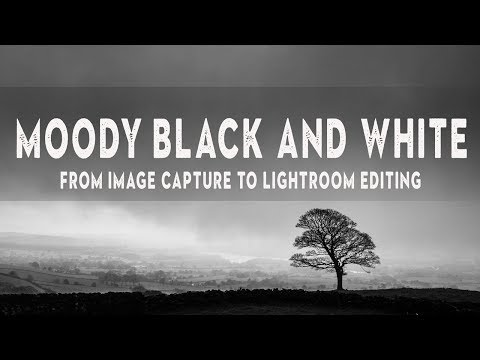Creating Mood In Landscape Photography | LIGHTROOM Tutorial For Dramatic B&W Photos