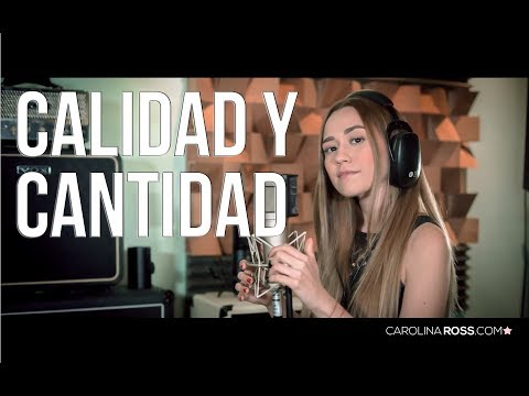 Calidad y cantidad - La arrolladora banda el Limón (Carolina Ross cover) En Vivo Sesión Estudio