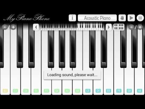 Phía sau một cô gái _ My piano phone