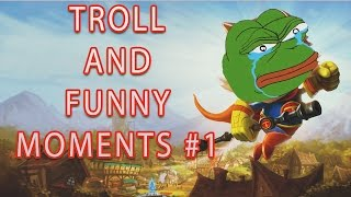 LOL Funny Moments and Pentakill Compilations #1