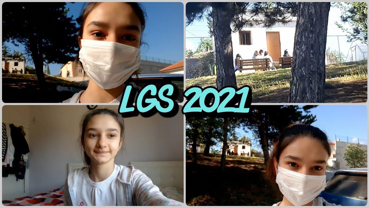 LGS SINAV GÜNÜ 2021 VLOG   EYVAH!!! Nerdeyse Sınavım İptal Olacaktı 🥵🥵🥵