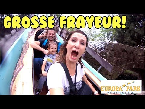 EUROPA-PARK : GROSSE FRAYEUR POUR ANGIE! VLOG ANGIE MAMAN 2.0 PARTIE 1