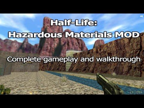 Half-Life: Hazardous Materials MOD - Complete Gameplay and Walkthrough