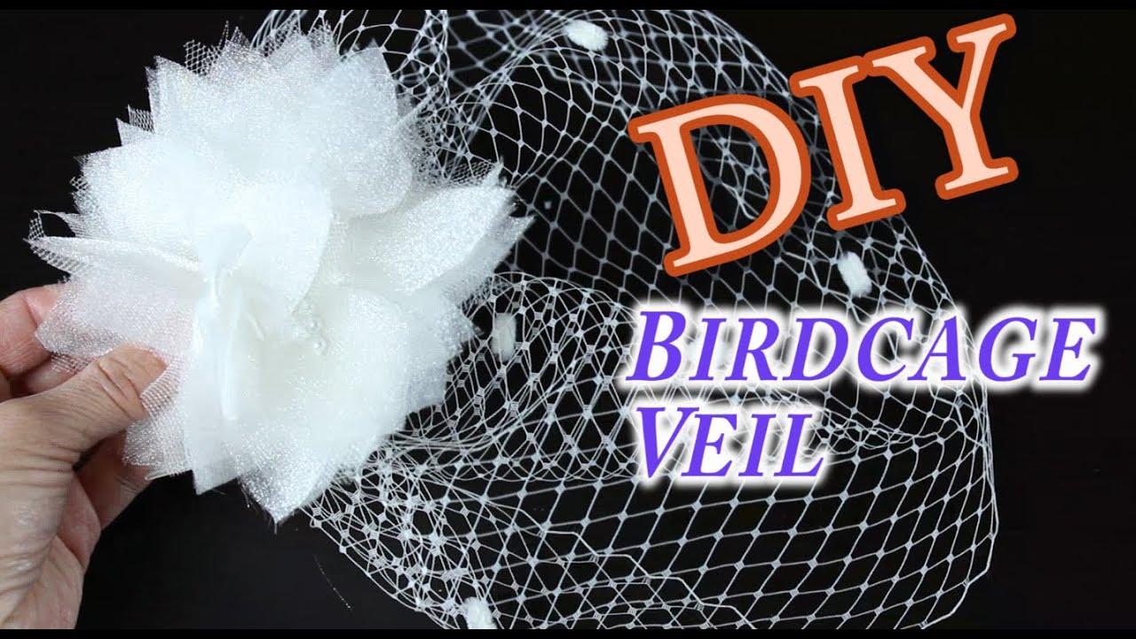 Diy birdcage bridal veil youtube diy birdcage bridal veil solutioingenieria Images