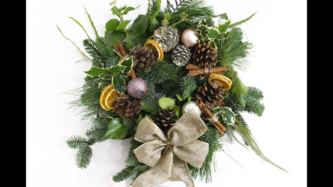 How To Make A Fresh Christmas Wreath Diy Carly Musleh