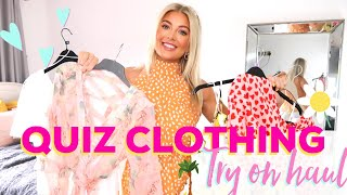HUGE QUIZ CLOTHING HAUL, SUMMER OUTFIT TRY ON HAUL | AMY COOMBES