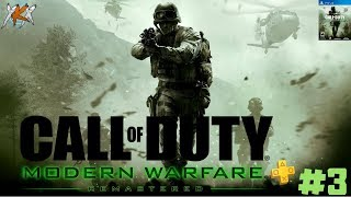 CALL OF DUTY : MODERM WARFARE REMASTERED - ACTO 1 CHARLIE NO HACE SURF!!