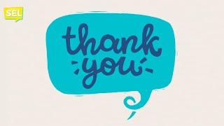 SEL Video Lesson of the Week (week 3) - Gratitude