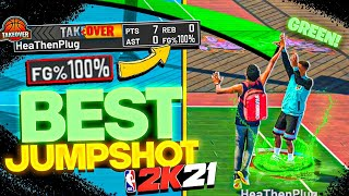 EASY AUTOMATIC GREENLIGHTS FOR ANY BUILD! BEST JUMPSHOT IN NBA 2K21!