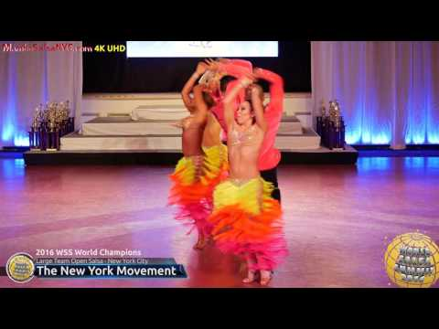 WSS16 Professional Large Team Open Salsa World Champions The New York Movement
