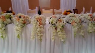 Свадебное оформление зала от Feya decor.