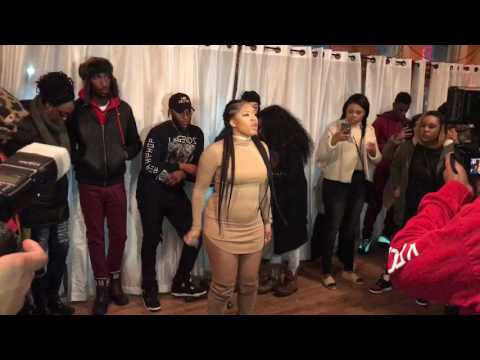 Rapper Bella barz Performs at Brooklyn Exposure