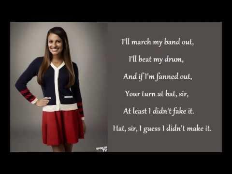 Lea Michele - Don't Rain On My Parade Lyrics