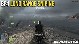 Battlefield 4 (PS4) - Long Range Counter Sniping - Sniping Guide: Part 3 (BF4 Gameplay)