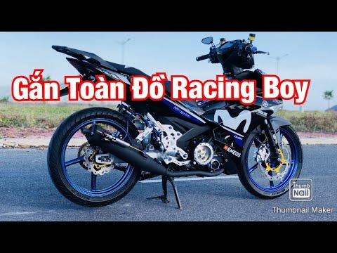 Chia Sẻ Về Đồ Racing Boy Gắn Trên Exciter 150 Của Mình