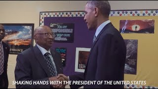 President Obama Meets 108-Year-Old Lester Townsend
