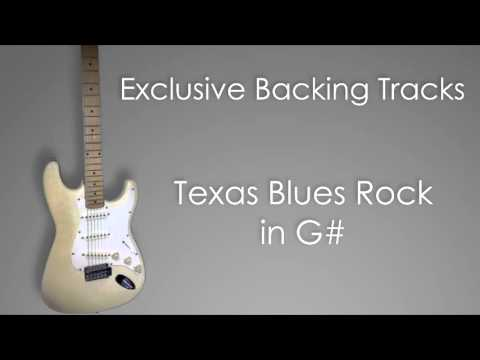 Backing Track - Texas Blues Rock in G# / Ab (Stevie Ray Vaughan SRV style)
