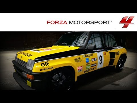 Forza 4 1080p Speed Art Renault 5 Turbo 2 Rally Paint